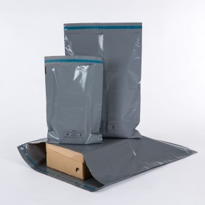 100% Recycled Mailer Bags Grey